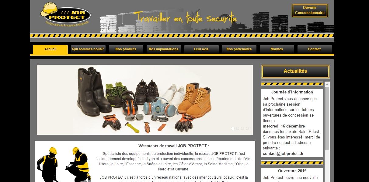 job protect nouveau site