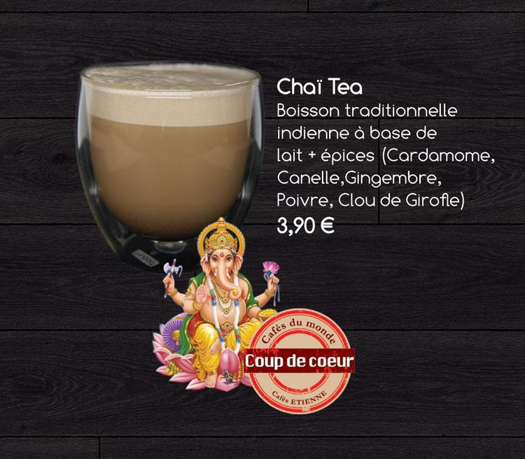 les produits de la nouvelle carte du coffee shop à la française