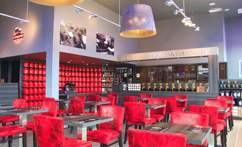 Cafés Etienne Lyon vient d'ouvrir - Vues du nouveau magasin