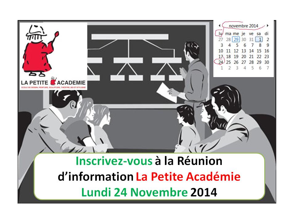 reunion info Lapetite Académie